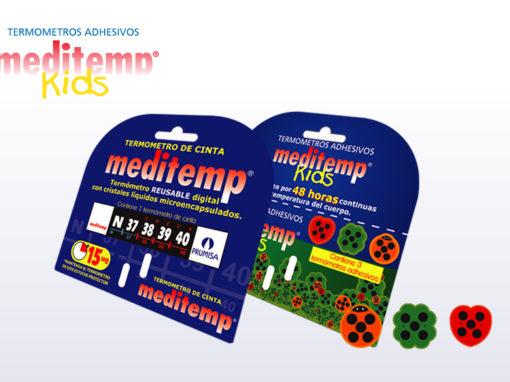 Termometros de cinta y adhesivos